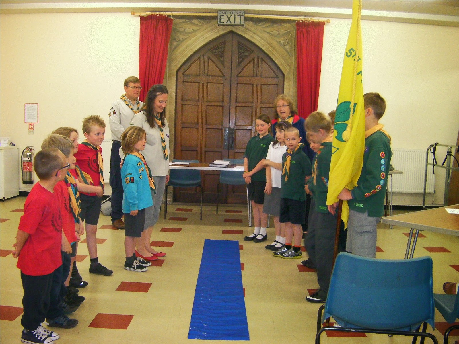 milton 5th portsmouth scout group meeting in st james church hall