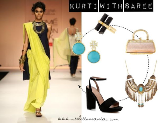 Confessions Of A StilettoManiac: 7 Unique Ways To Style Your Kurti