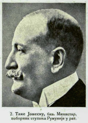 Tache Jonescu, former Minister advocated Romania's taking part of the war