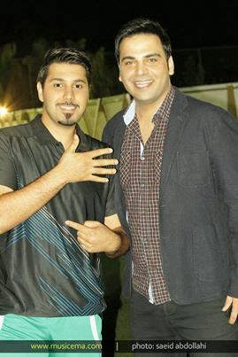 Amazing Pic: Ehsan Khaje amiri And Ehsan Alikhani