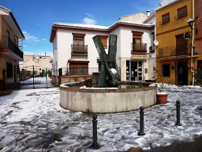 """""""Fuente del estreñío"""", """"Monumento al Donante de Sangre"""", Zaafra, Alfacar, """"Flor de Cuba"""""""