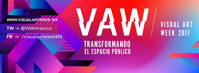 visual art week 2017 CDMX