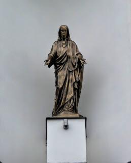 Ходорів. Костел Всіх Святих. Скульптури святих
