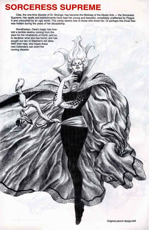 The Dork Review Alex Ross S Earth X Sketchbook