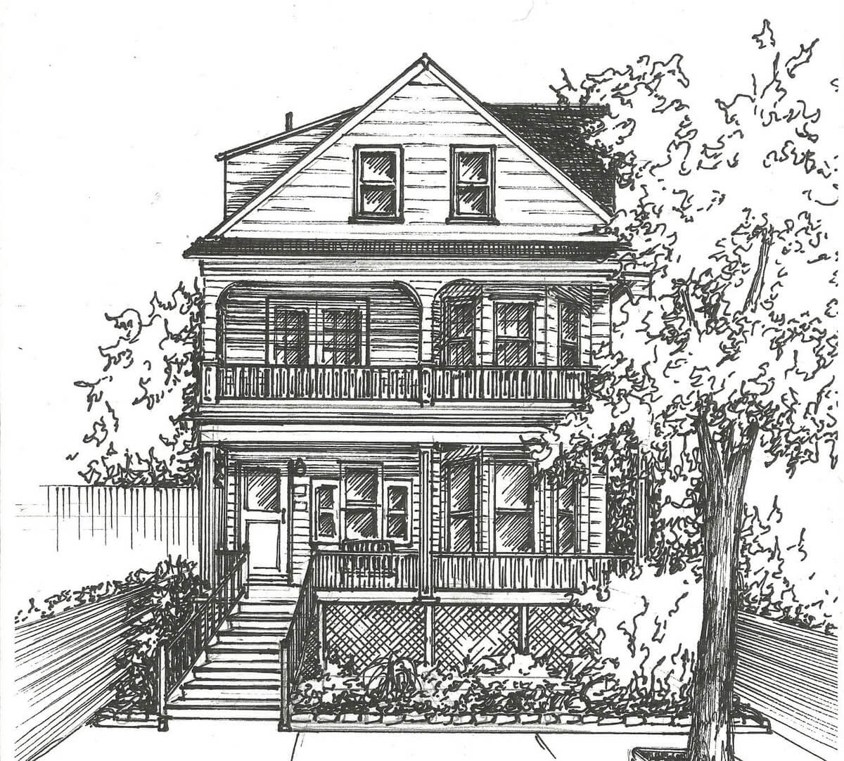 07-Commission-an-Original-Ink-House-Drawing-Mary-Frances-Smith-Architecture-Expressed-in-House-Drawings-www-designstack-co