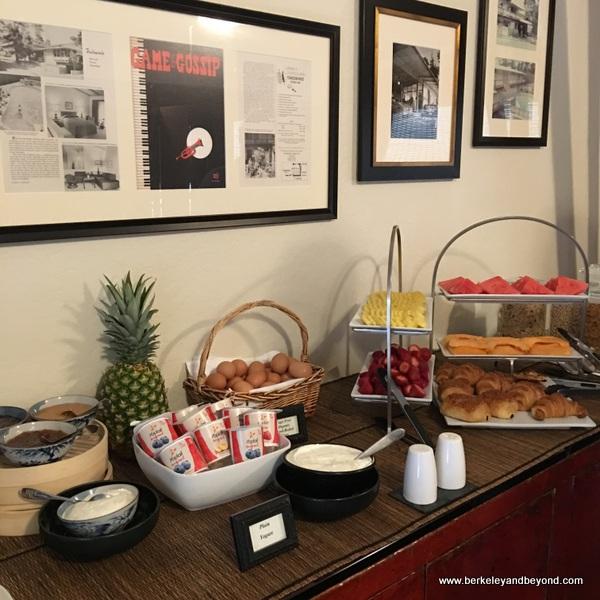 breakfast buffet at Tradewinds Carmel in Carmel, California