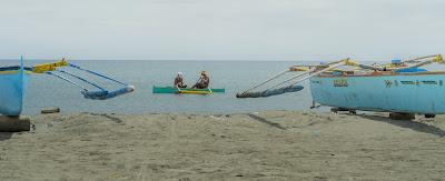 Coastal Fishermen Puro Pinget Island Magsingal Ilocos Sur Philippines