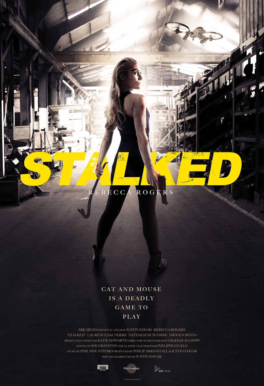 Stalked (2019) starring Rebecca Rogers | Poster