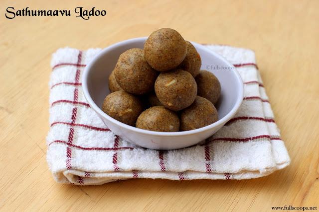 Sathumaavu Ladoo