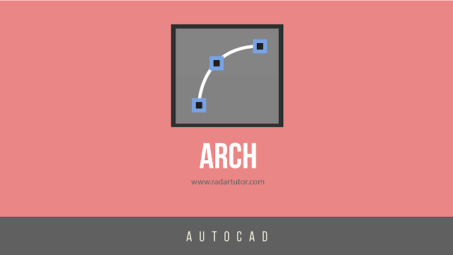 AutoCAD drawing tools: Arc