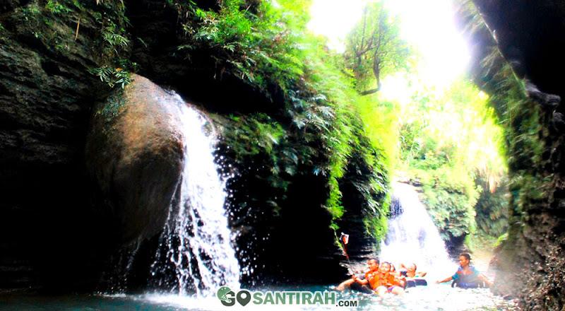 paket wisata river tubing santirah selasari