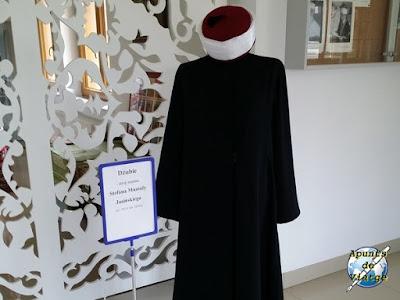 Vestido de imam en el museo de Kruszyniany