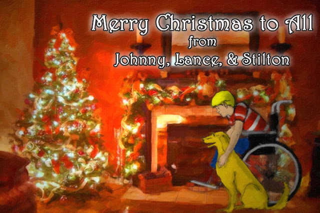 johnnyoptimism, johnny optimism, medical humor, sick jokes, stilton jarlsberg, christmas