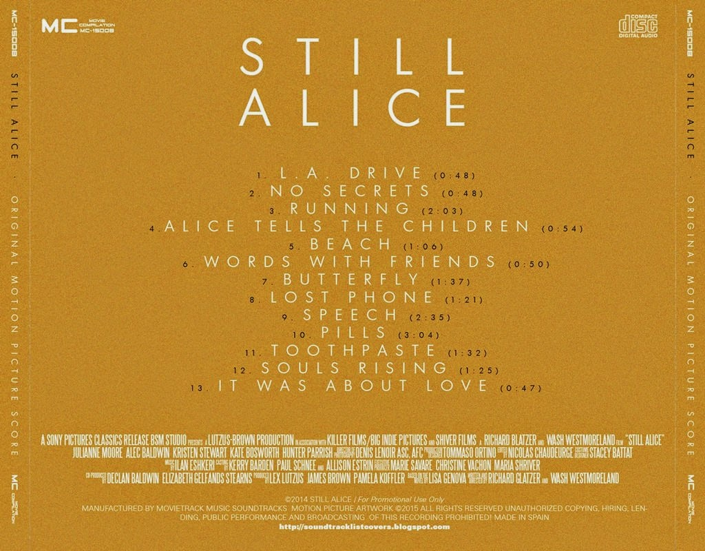 still alice soundtracks