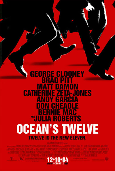 Poster Of Ocean's Twelve 2004 720p Hindi BRRip Dual Audio Full Movie Download