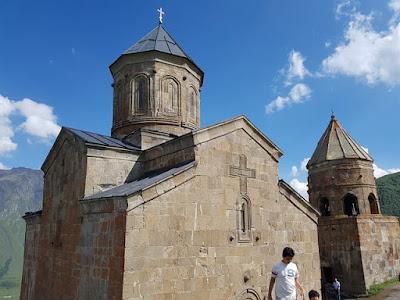 El monasterio de Gergeti, en Georgia