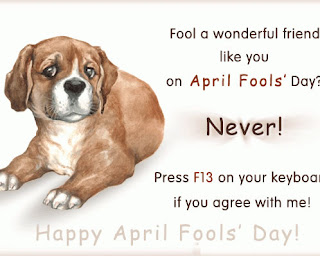 April Fool Funny quotes for husband & wife, bf & gf