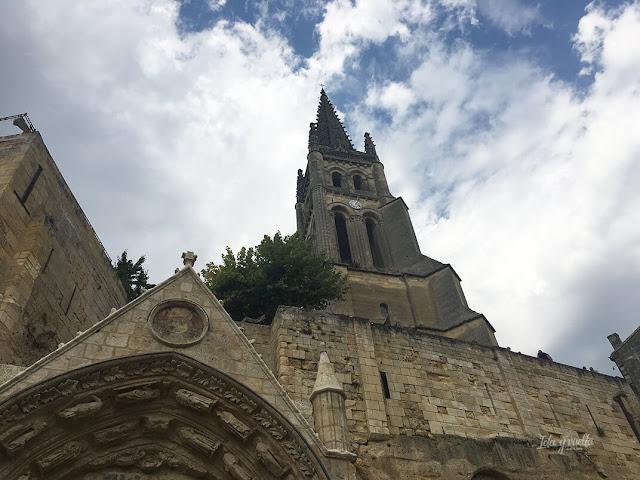 Campanario iglesia Monolítica Saint-Émilion