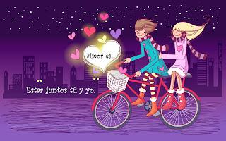 El Amor es estar juntos tú y yo.