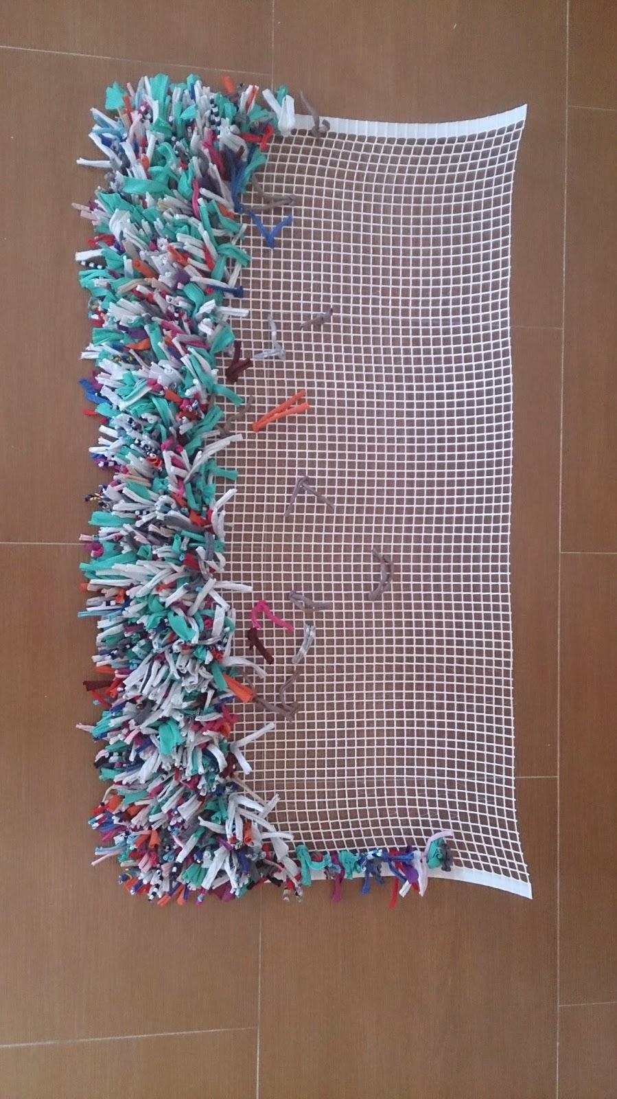 Positiva creativa reciclaje - Telas para alfombras ...