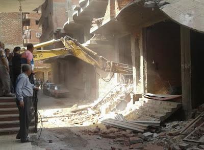 عشماوى يشدد على إزالة كافة أعمال البناء المخالف