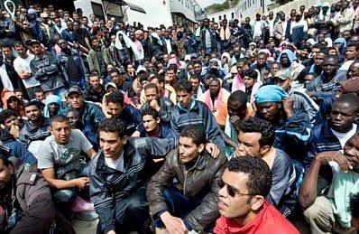 Lampedusa refugees #17