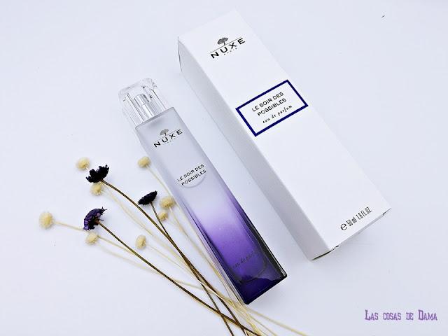Le Soir Des Possibles nuxe fragancias perfumes farmacia eau de parfum beauty belleza