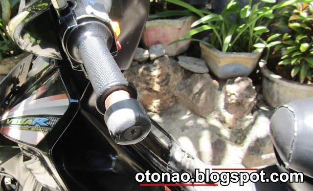besi diujung stang motor