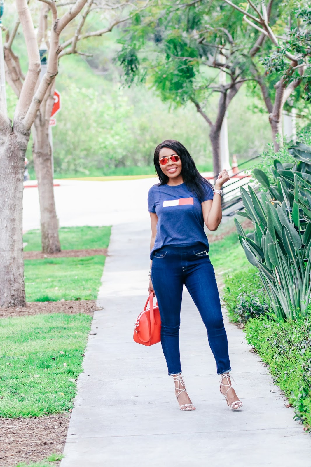 fb843608129 Spring Fashion  How To Style Denim + A T-shirt