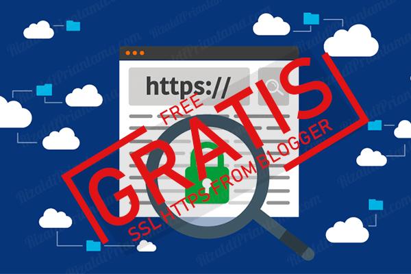 Cara mendapatkan SSL HTTPS Gratis Custom Domain Blogger