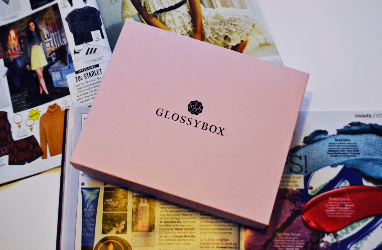 The top of the january Glossybox