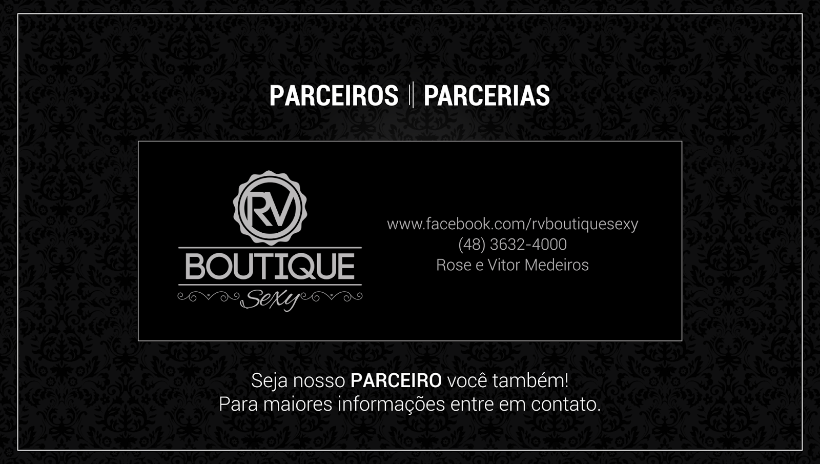 www.facebook.com/rvboutiquesexy