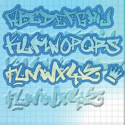 download font graffiti photoshop