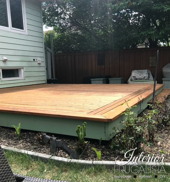 Budget-Friendly Deck Restore Stained Cedar Naturaltone