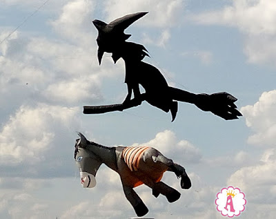 International Kite Festival 2018 Tryhutty Witch Donkey