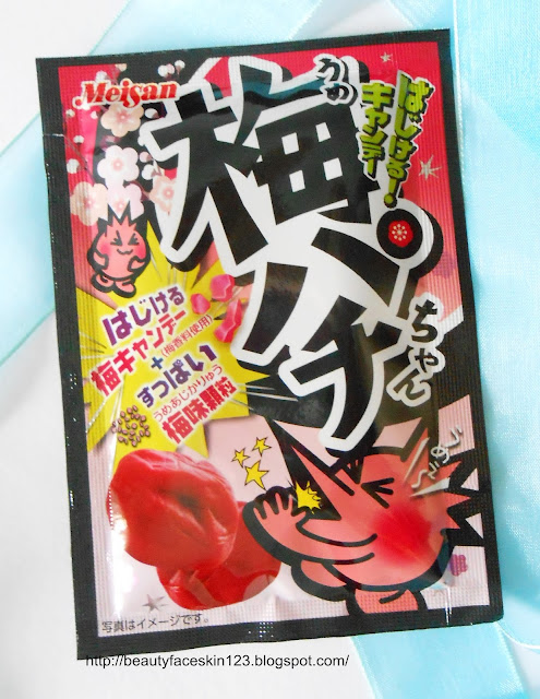 JAPAN FUNBOX JULY 2016-MONTHLY JAPAN SUBSCRIPTION BOX- Meisan Ume-Pachi