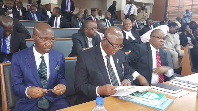 BREAKING: Tribunal adjourns till January 22 on CJN Onnoghen's case