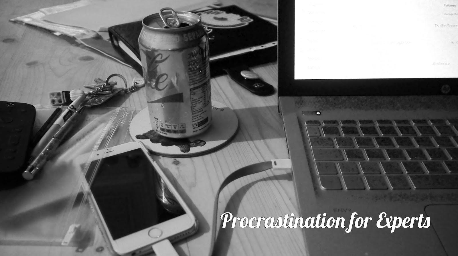 Procrastination for Experts
