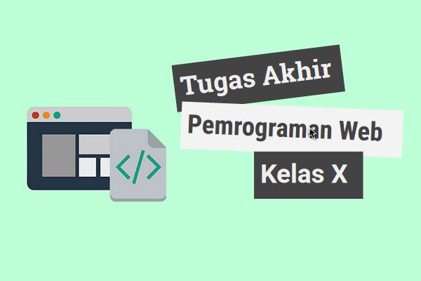 Tugas akhir pemrograman web kelas X | Saya dan 3 temen saya | iosinotes.blogspot.com