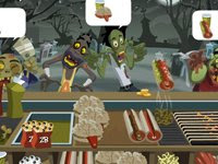 See if you can satisfy these #Zombie clientele! #HalloweenGames #FlashGames