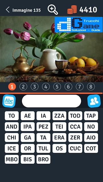 8 Parole Smontate soluzione livello 131-140