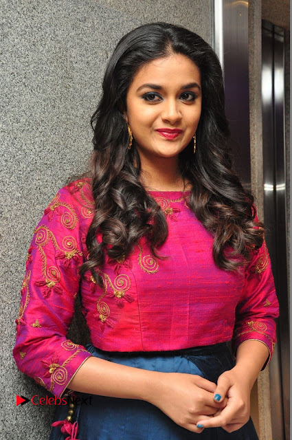 Actress Keerthi Suresh Stills at Remo Success Meet  0014.JPG