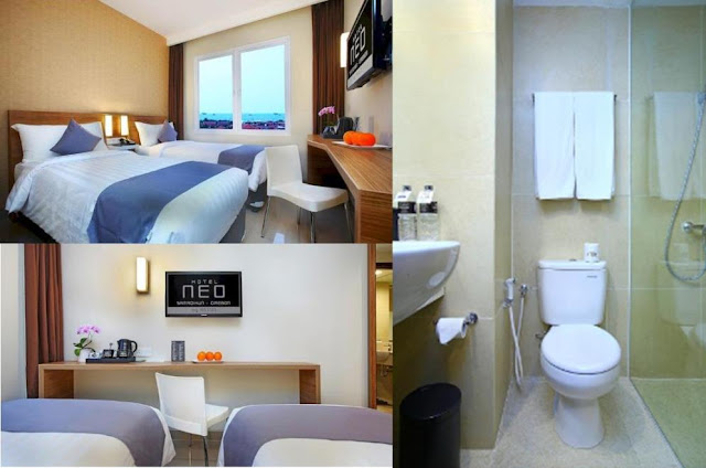 Kamar Standar di Hotel Neo Cirebon