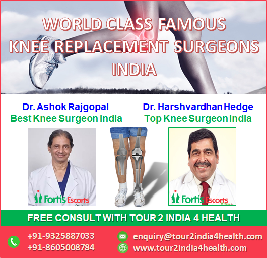 Successful Knee Surgery by World Top Class Knee Surgeons in India