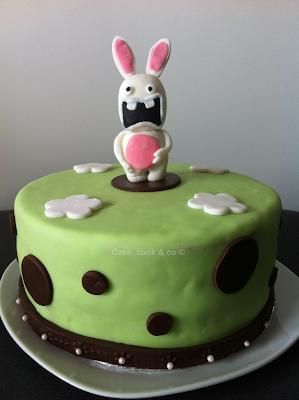 cake lapin cretin