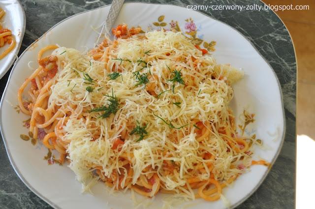 Kulinarna środa: Spaghetti
