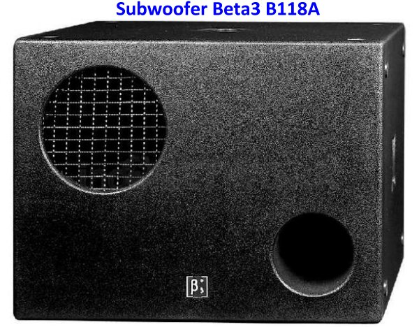 Harga Speaker Beta 3 B118A Subwoofer
