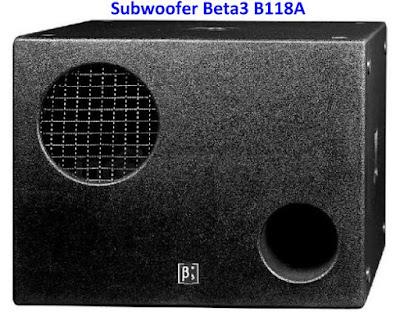 Harga Speaker Subwoofer Betha3 (b3) 18 inchi
