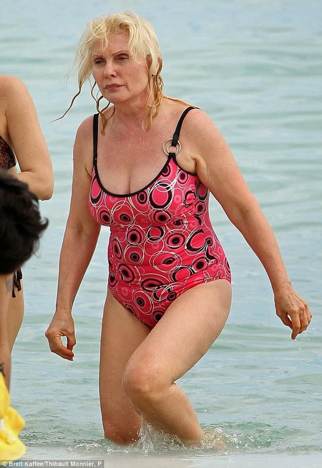 d6891331f5 Debbie Harry Rocks on a Miami Beach | BlueisKewl