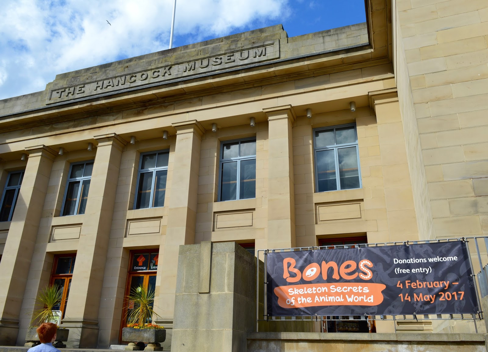 Bones Exhibition at Hancock Museum, Newcastle | Exterior